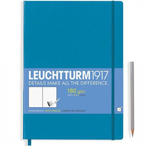 Блокнот для эскизов Leuchtturm1917 голубого цвета, фото
