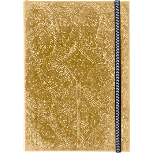 Большой блокнот Christian Lacroix Paseo Embossed Gold формата В5, фото