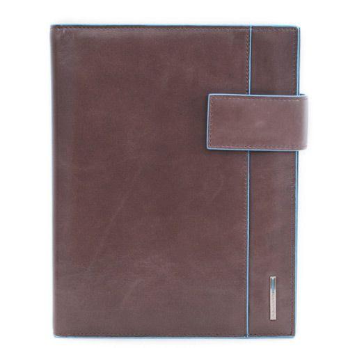 Ежедневник Piquadro с застежкой Blue Square коричневый, фото
