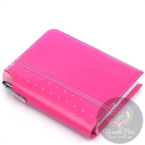 Блокнот малый Cross Signature розового цвета в комплекте с ручкой Cross, фото