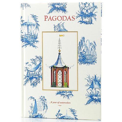 Блокнот Architectural Watercolors Pagodas Year of Watercolors формата B5, фото