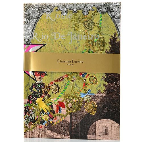 Блокнот Christian Lacroix Papier Voyage II формата B5 с лентой-закладкой, фото
