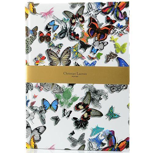 Блокнот-альбом Christian Lacroix Papier Butterfly Parade формата A4 с лентой-закладкой, фото
