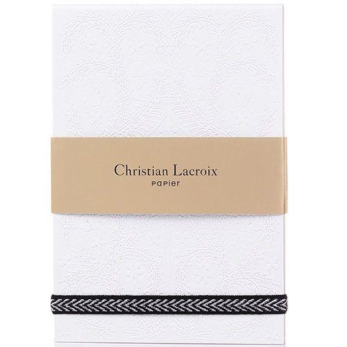 Блокнот Christian Lacroix Papier Paseo Pastis белый, фото