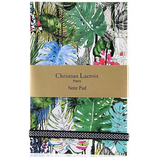 Вертикальный блокнот Christian Lacroix Jardin Exo-Chic формата А6, фото