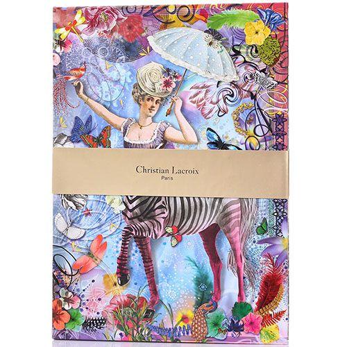 Блокнот Christian Lacroix Zebra Girl с изображением девушки-зебры, фото