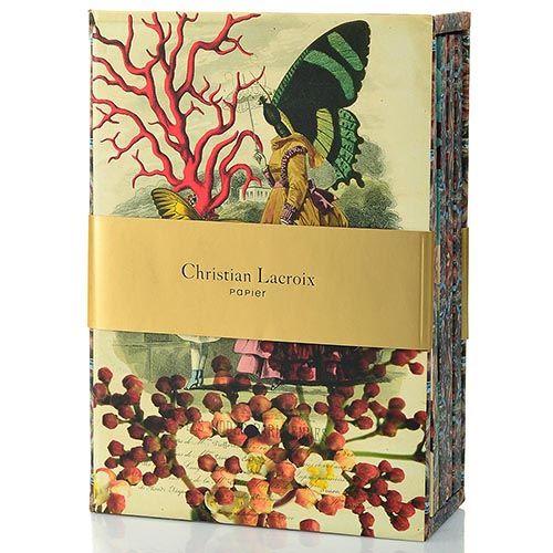 Набор Christian Lacroix Papier Les Modes Parisien из 4 блокнотов А6 в твердом футляре, фото