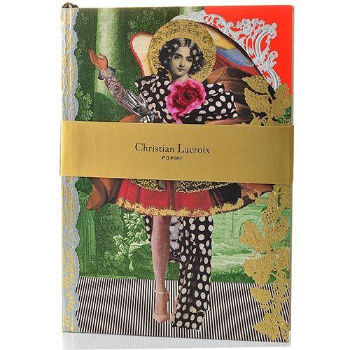 Блокнот Christian Lacroix Papier Les Anges Baroques формата А5 с лентой-закладкой, фото