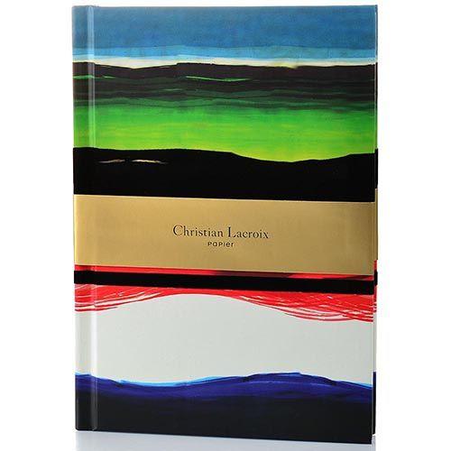 Блокнот Christian Lacroix Papier Tempera формата А5 в жестком переплете с лентой-закладкой, фото