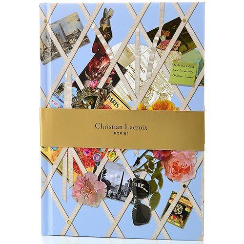 Блокнот-альбом Christian Lacroix Papier Souvenir формата А5 в жестком переплете с лентами-закладками, фото
