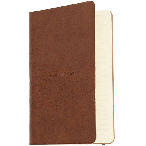 Записная книжка The Bridge Story Uomo кожаная коричневая