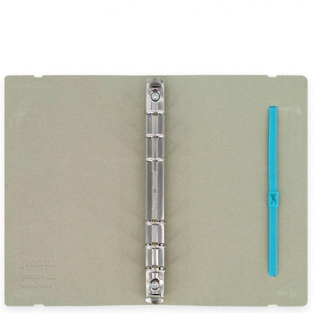Персональный органайзер Filofax Compact Doodle белый в клетку и с цветным принтом