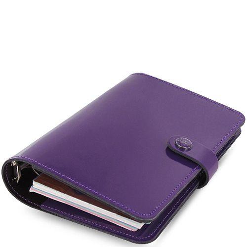 Органайзер Filofax Personal The Original кожаный лаковый фиолетовый