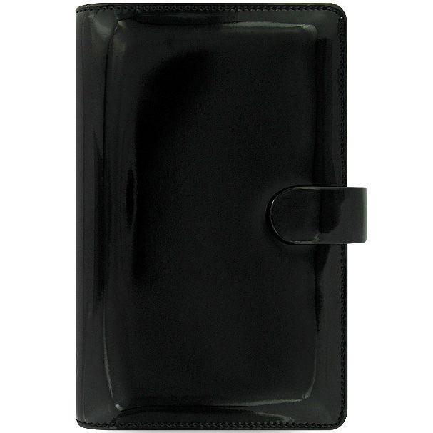 Персональный органайзер Filofax Compact Patent черный лаковый