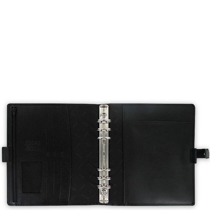 Профессиональный органайзер Filofax А5 Finsbury кожаный черный