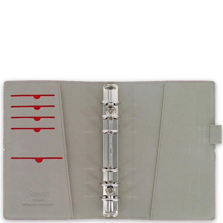 Органайзер Filofax Personal Domino бордовый на резинке