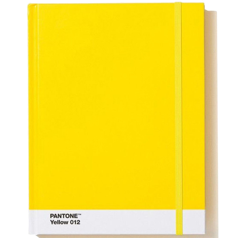 Желтый блокнот Pantone Large Yellow 012 формата А5
