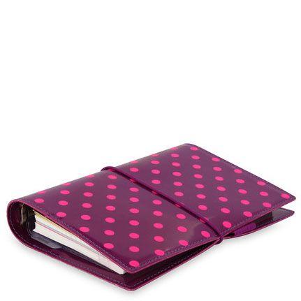 Органайзер Filofax Domino Personal розовый на резинке