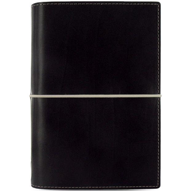 Органайзер Filofax Personal Domino черный на резинке