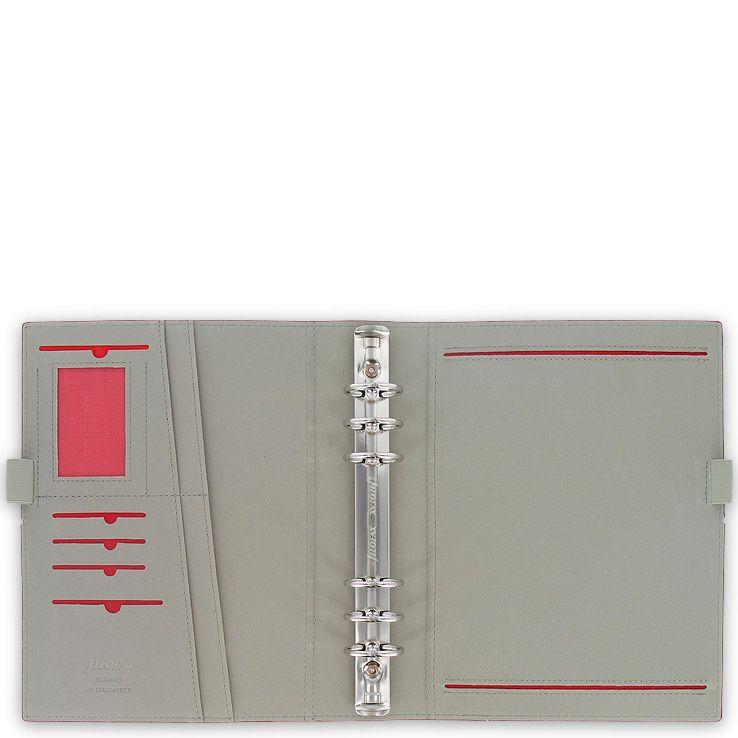 Органайзер Filofax А5 Domino бордовый на резинке