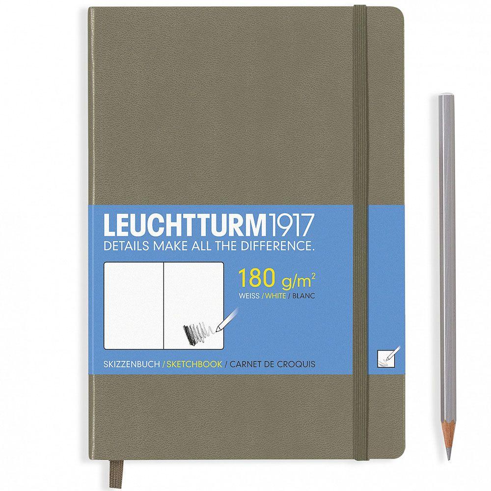 Серо-коричневый скетч-бук Leuchtturm1917 формата А5
