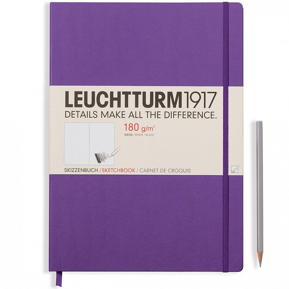 Скетч-бук в твердом переплете Leuchtturm1917 фиолетового цвета