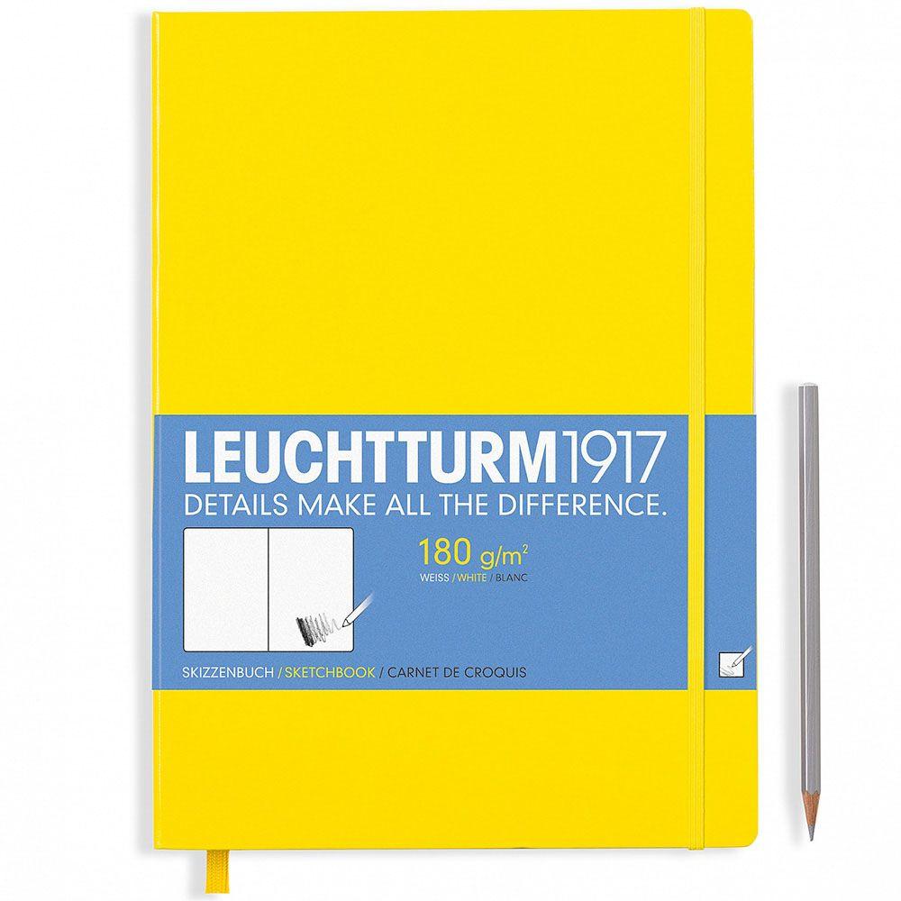 Скетч-бук Leuchtturm1917 желтого цвета