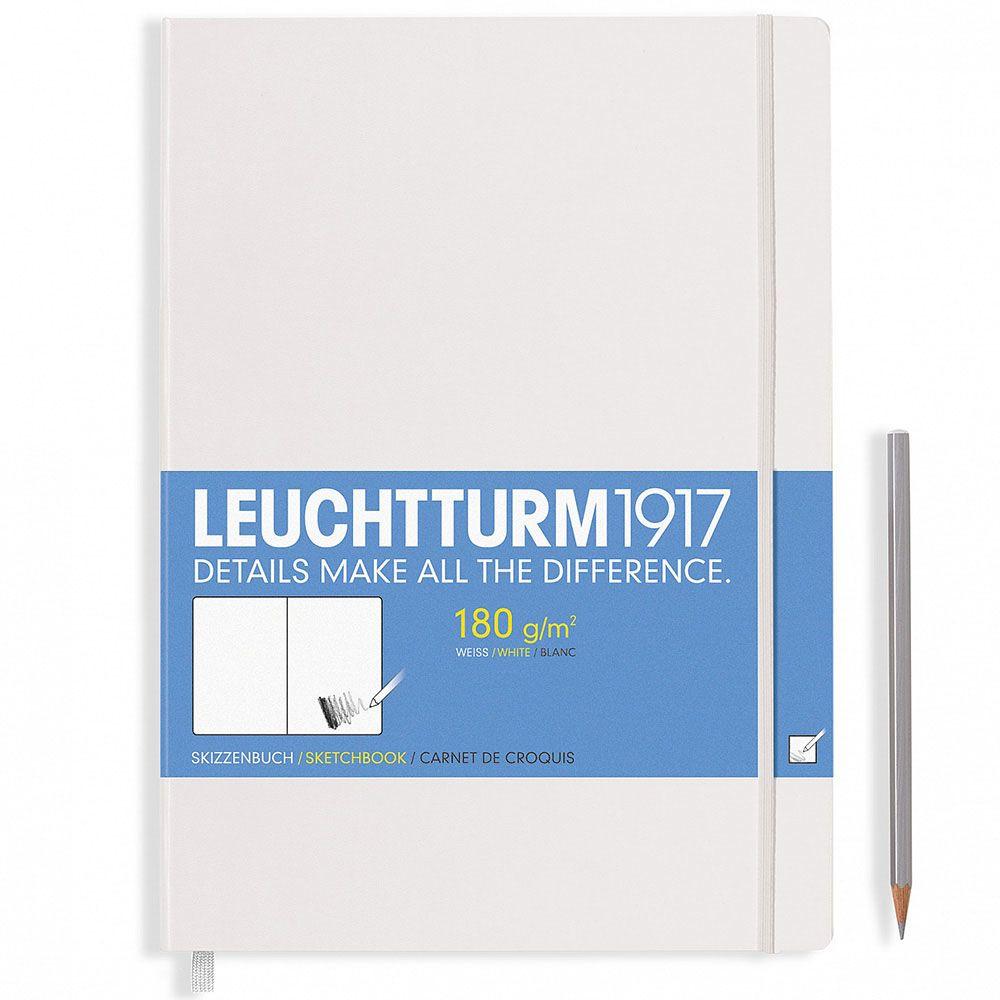Белый скетч-бук Leuchtturm1917 формата А4