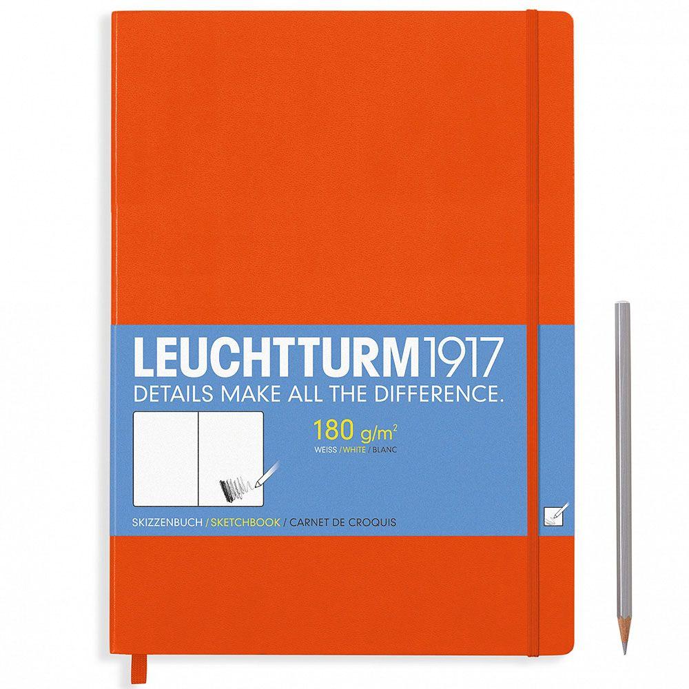 Оранжевый скетч-бук Leuchtturm1917 формата А4