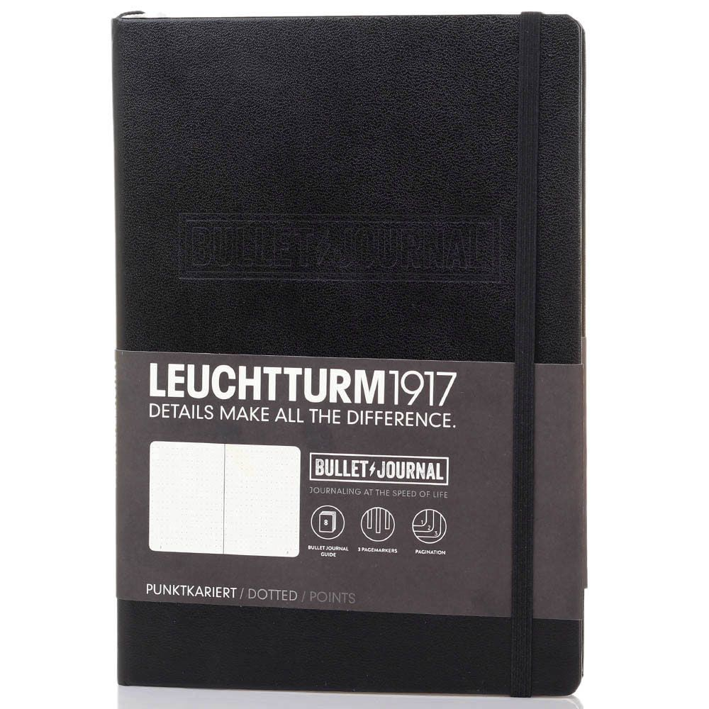 Органайзер Leuchtturm1917 Bullet Journal черного цвета