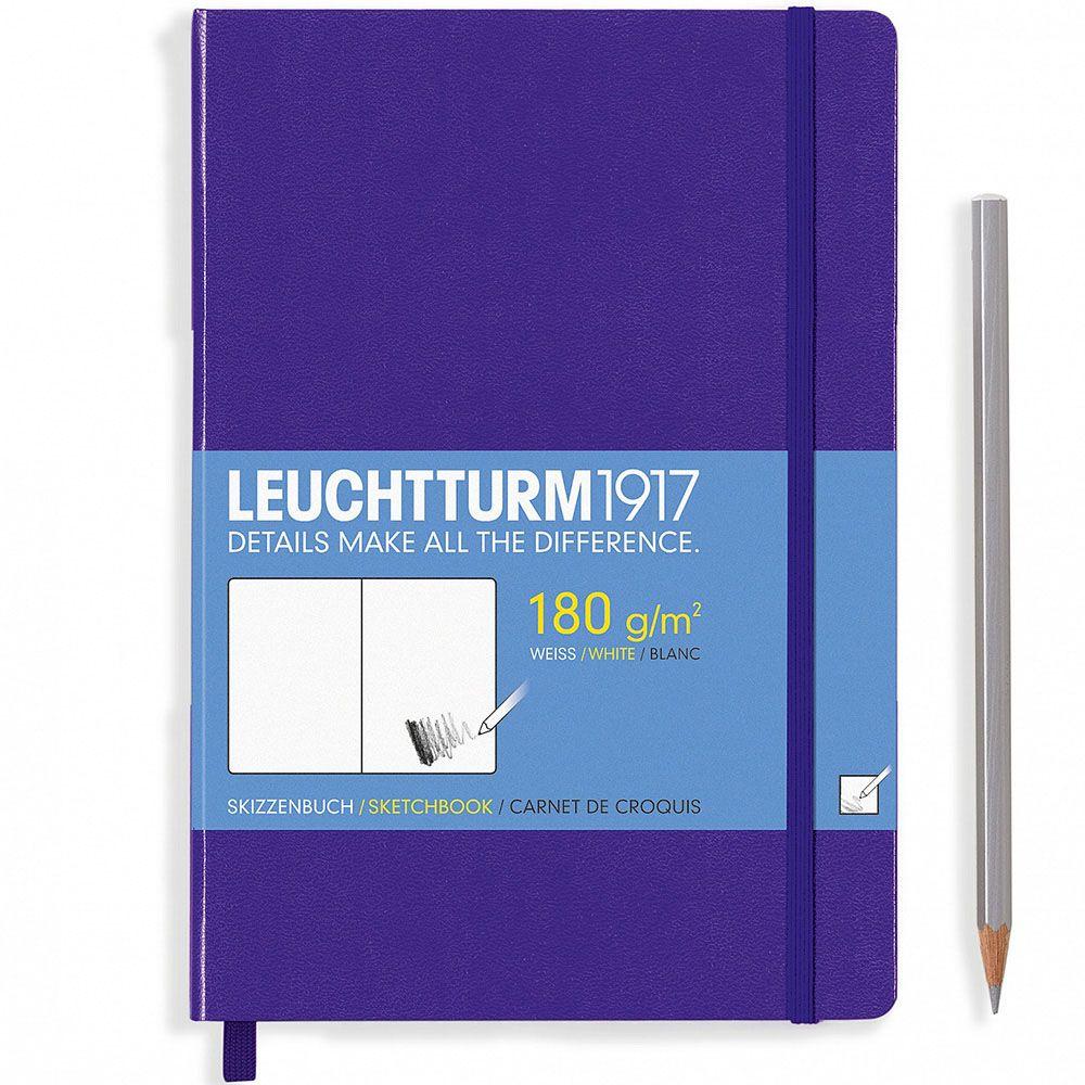 Скетч-бук Leuchtturm1917 в фиолетовой обложке
