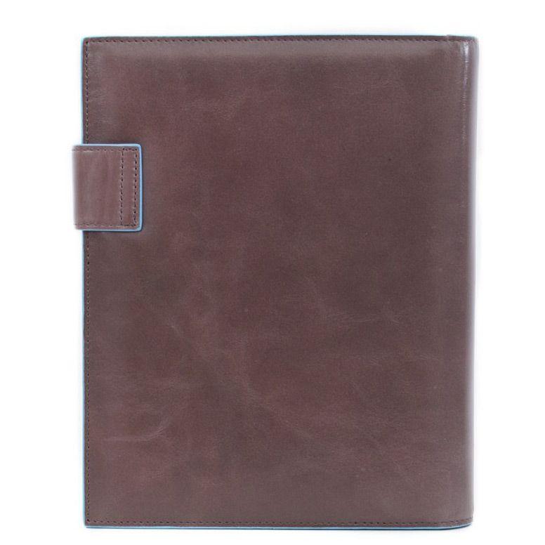 Ежедневник Piquadro с застежкой Blue Square коричневый