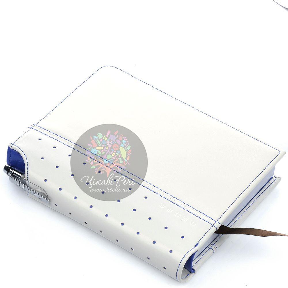 Блокнот малый Cross Signature белого цвета в комплекте с ручкой Cross