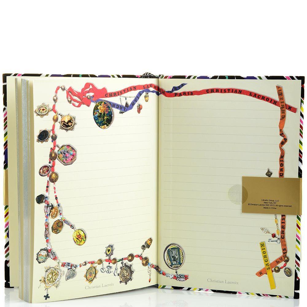 Блокнот Christian Lacroix Papier Cordoba формата А5 в жестком переплете с лентой-закладкой