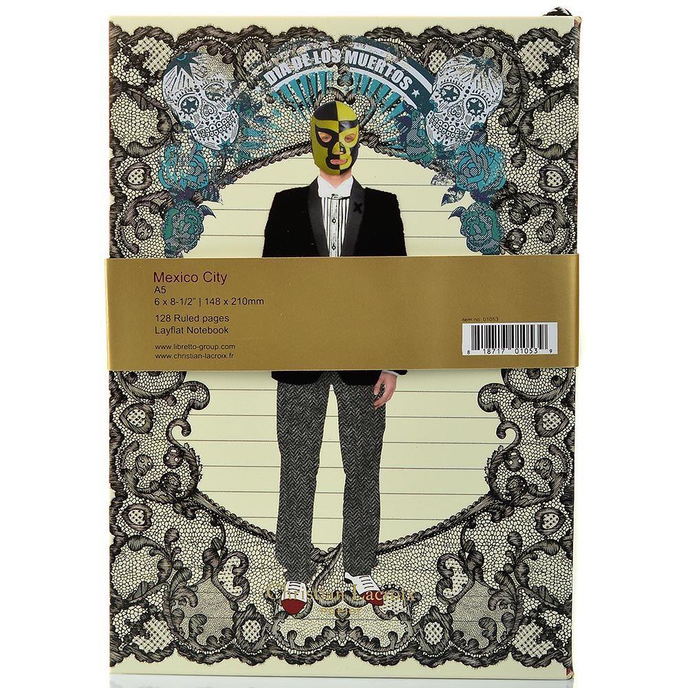 Блокнот Christian Lacroix Papier City Journal Mexico А5 с лентой-закладкой