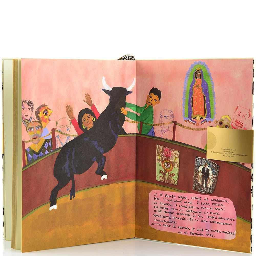 Блокнот Christian Lacroix Papier City Journal Mexico А5 с лентой-закладкой