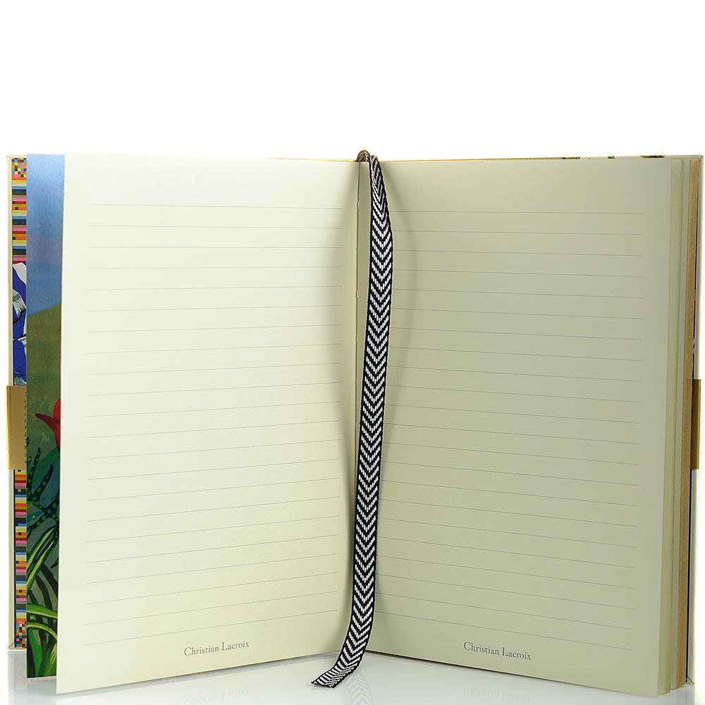 Блокнот Christian Lacroix Papier City Journal RIO А5 с лентой-закладкой