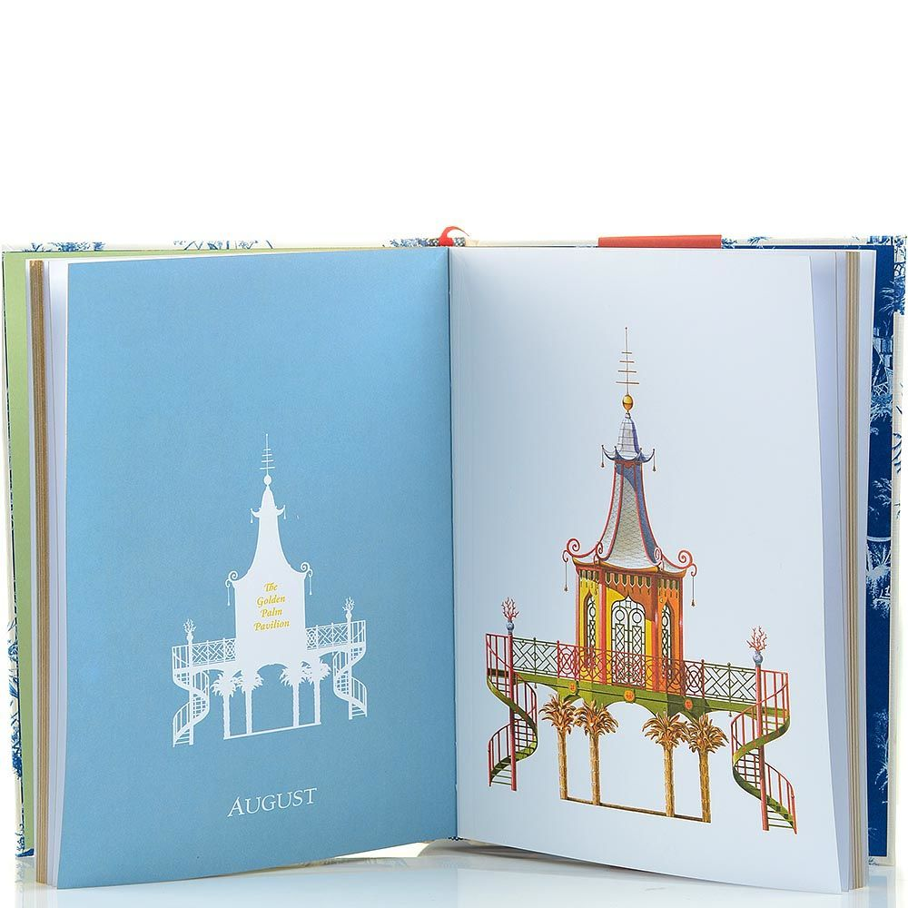 Блокнот Architectural Watercolors Pagodas Year of Watercolors формата B5