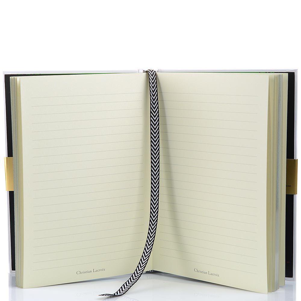 Блокнот Christian Lacroix Papier Le Main au Collet Jewel формата A5 с лентой-закладкой