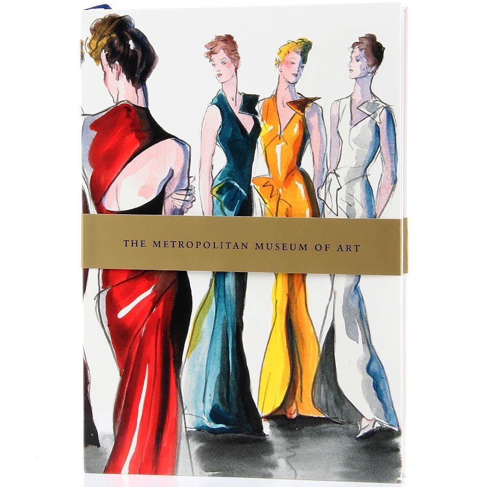 Блокнот The Metropolitan Museum of Art Evening Dresses формата А5