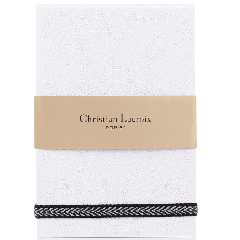 Блокнот Christian Lacroix Papier Paseo Pastis белый