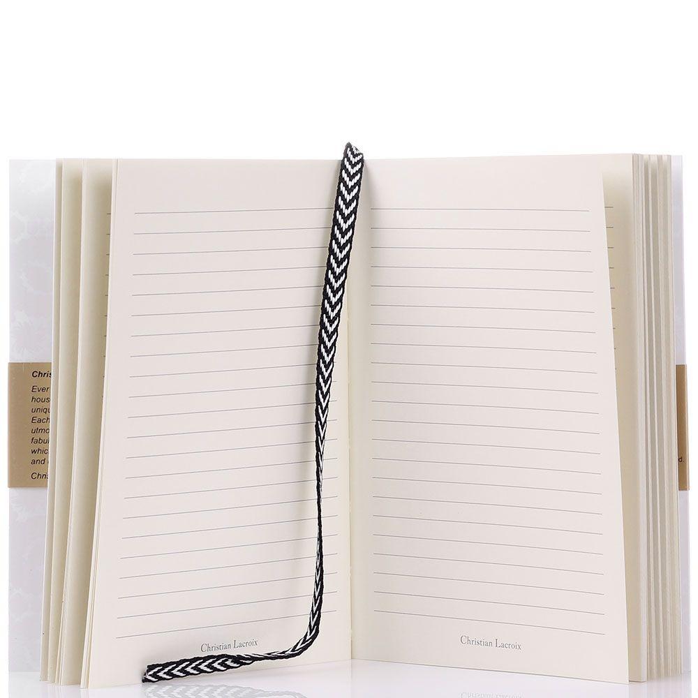 Блокнот Christian Lacroix Papier Paseo Pastis A6 белый