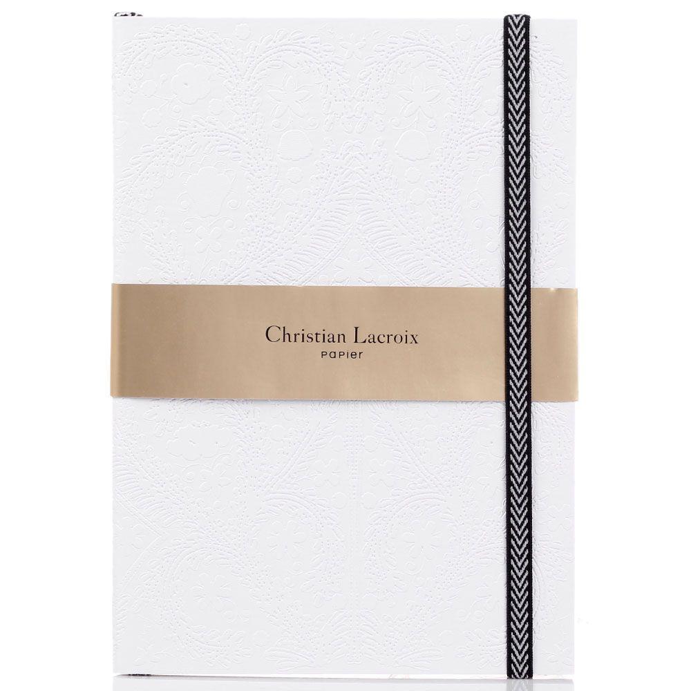 Блокнот Christian Lacroix Papier Paseo Pastis A5 белый