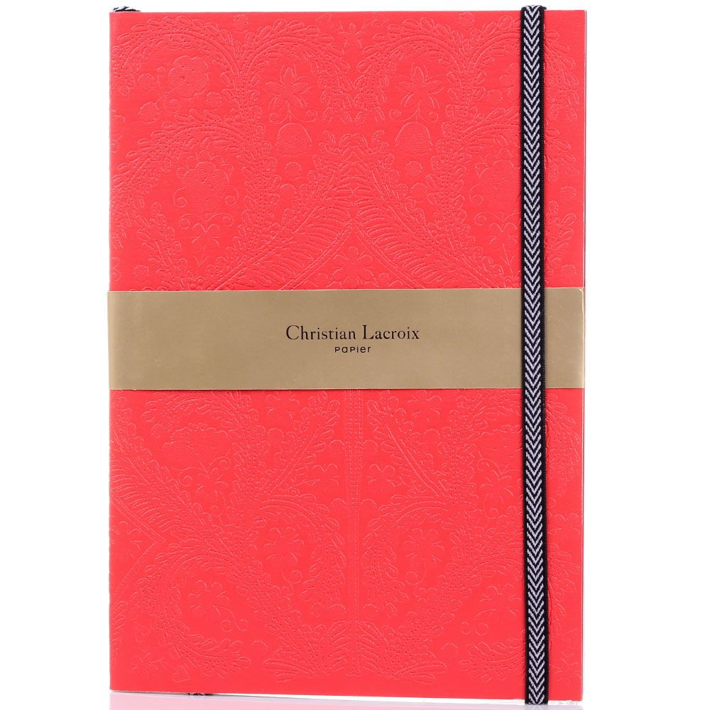 Блокнот Christian Lacroix Papier Paseo Scarlet B5 красный