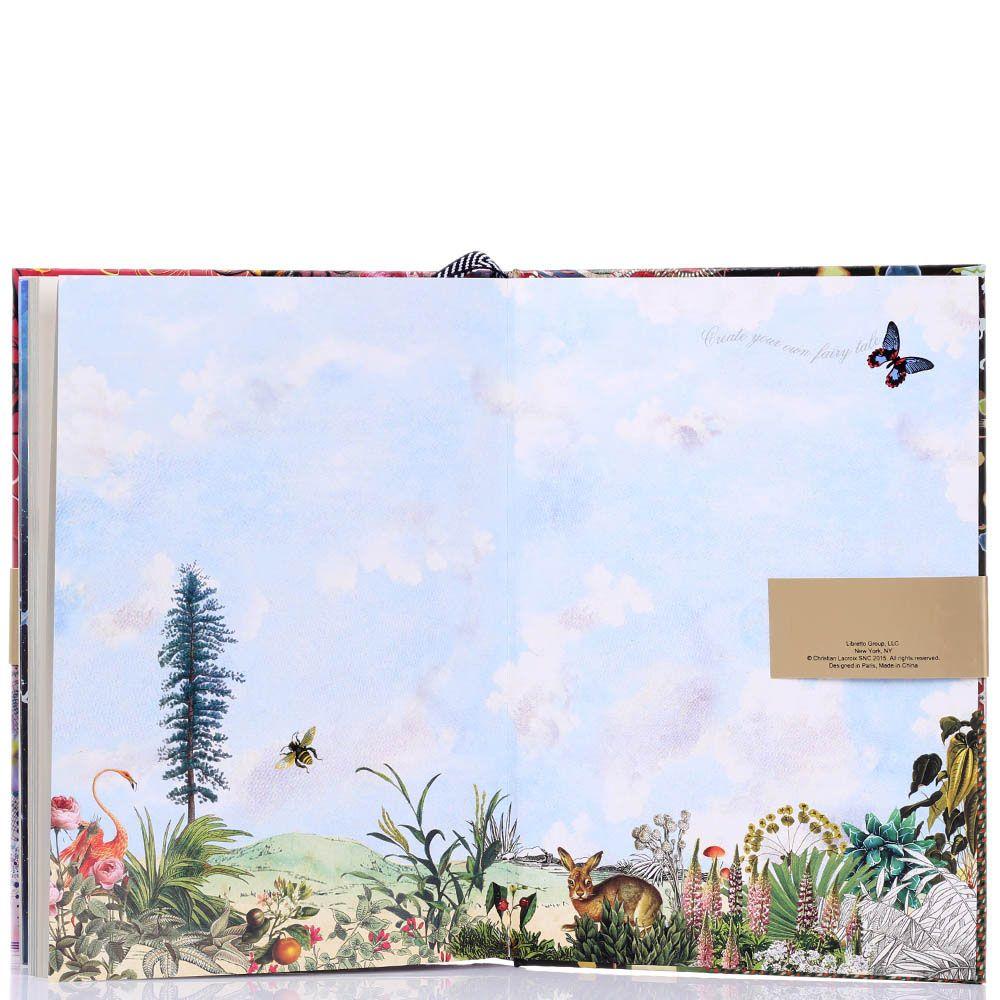 Блокнот Christian Lacroix Zebra Girl с изображением девушки-зебры