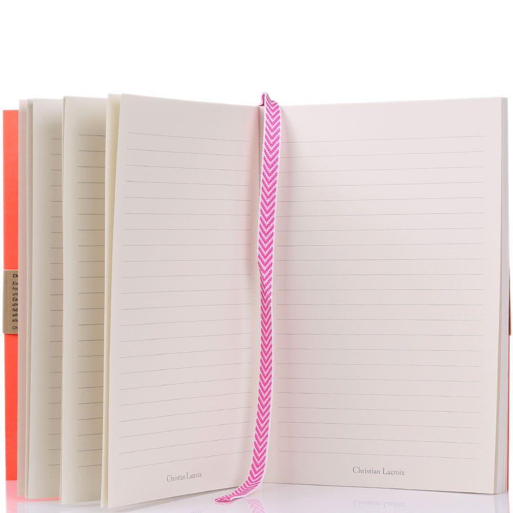 Блокнот Christian Lacroix Ombre Paseo Neon A5 розовый