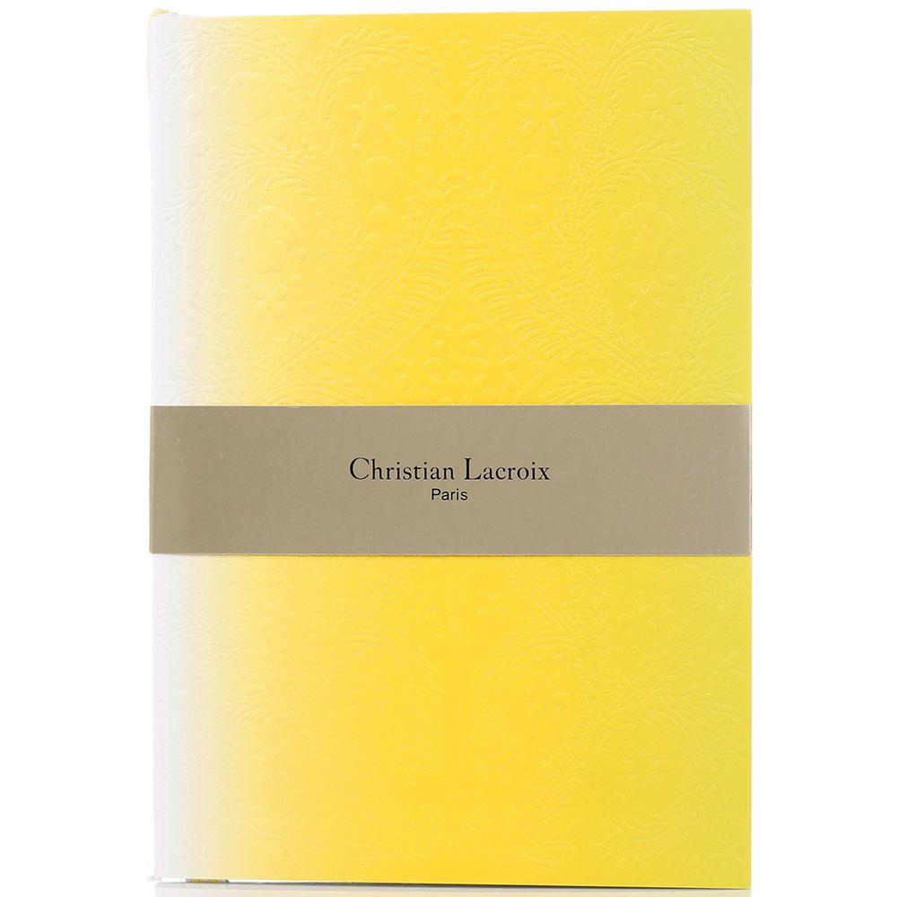Блокнот Christian Lacroix Ombre Paseo Neon A5 желтый