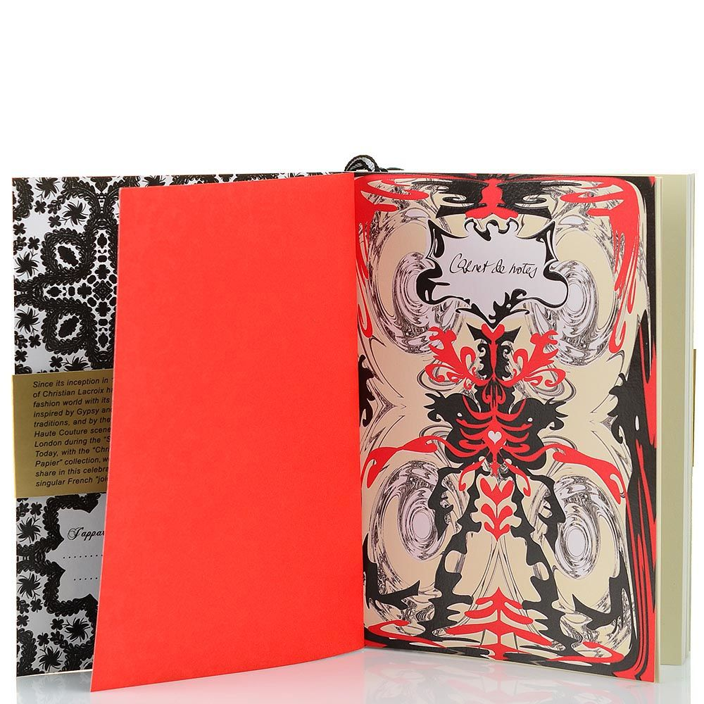 Блокнот Christian Lacroix Papier Croquis Fashion Sketch А6 с лентой-закладкой