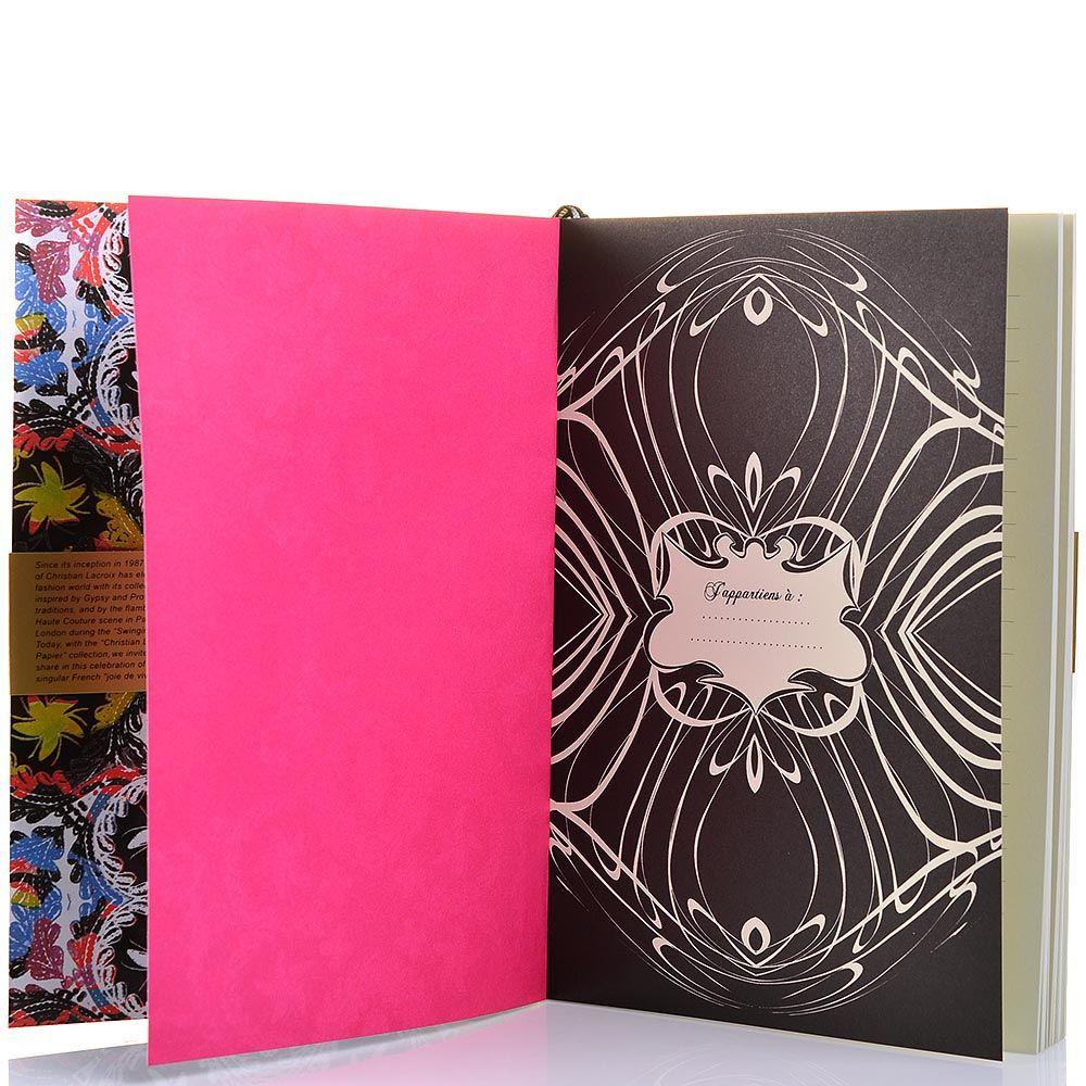 Блокнот Christian Lacroix Papier Virgin формата А5 с лентой-закладкой