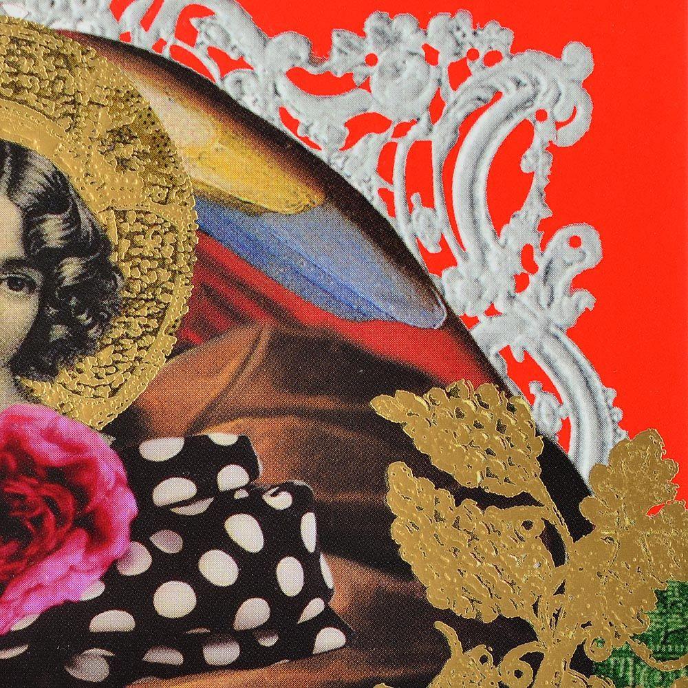 Блокнот Christian Lacroix Papier Les Anges Baroques формата А5 с лентой-закладкой